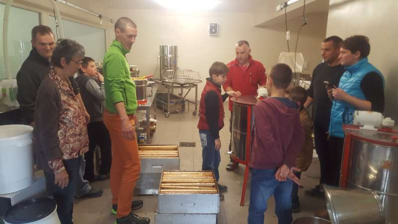 Initiation Rucher Ecole